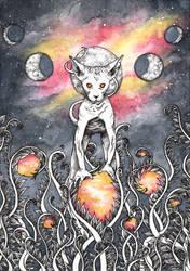 Space kitty by Etheroxyde