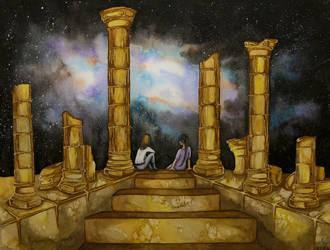 Pillars by Etheroxyde