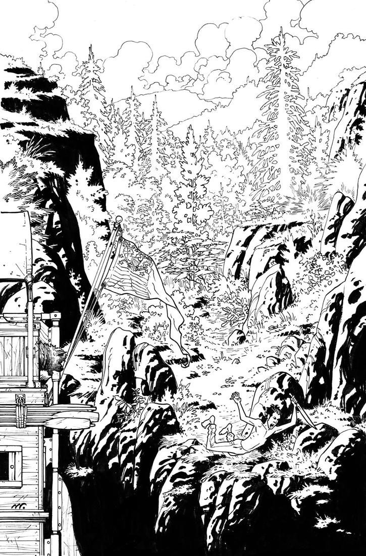 Manifest Destiny Cover 11 Inks by Shinolahead