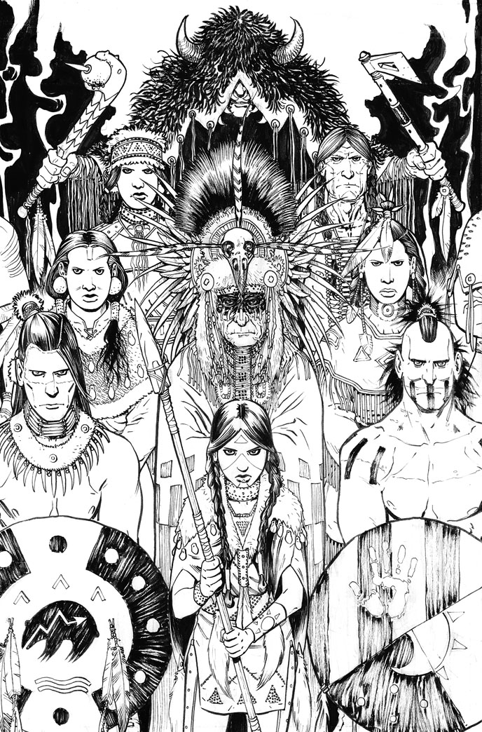 Manifest Destiny Cover 12 Inks by Shinolahead