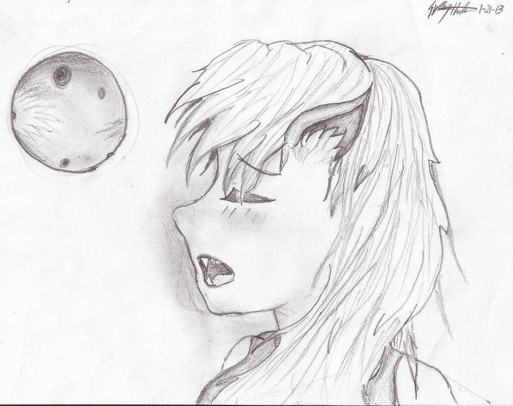 Beautiful anime wolf girl by sydyshada on deviantart for Ro draw