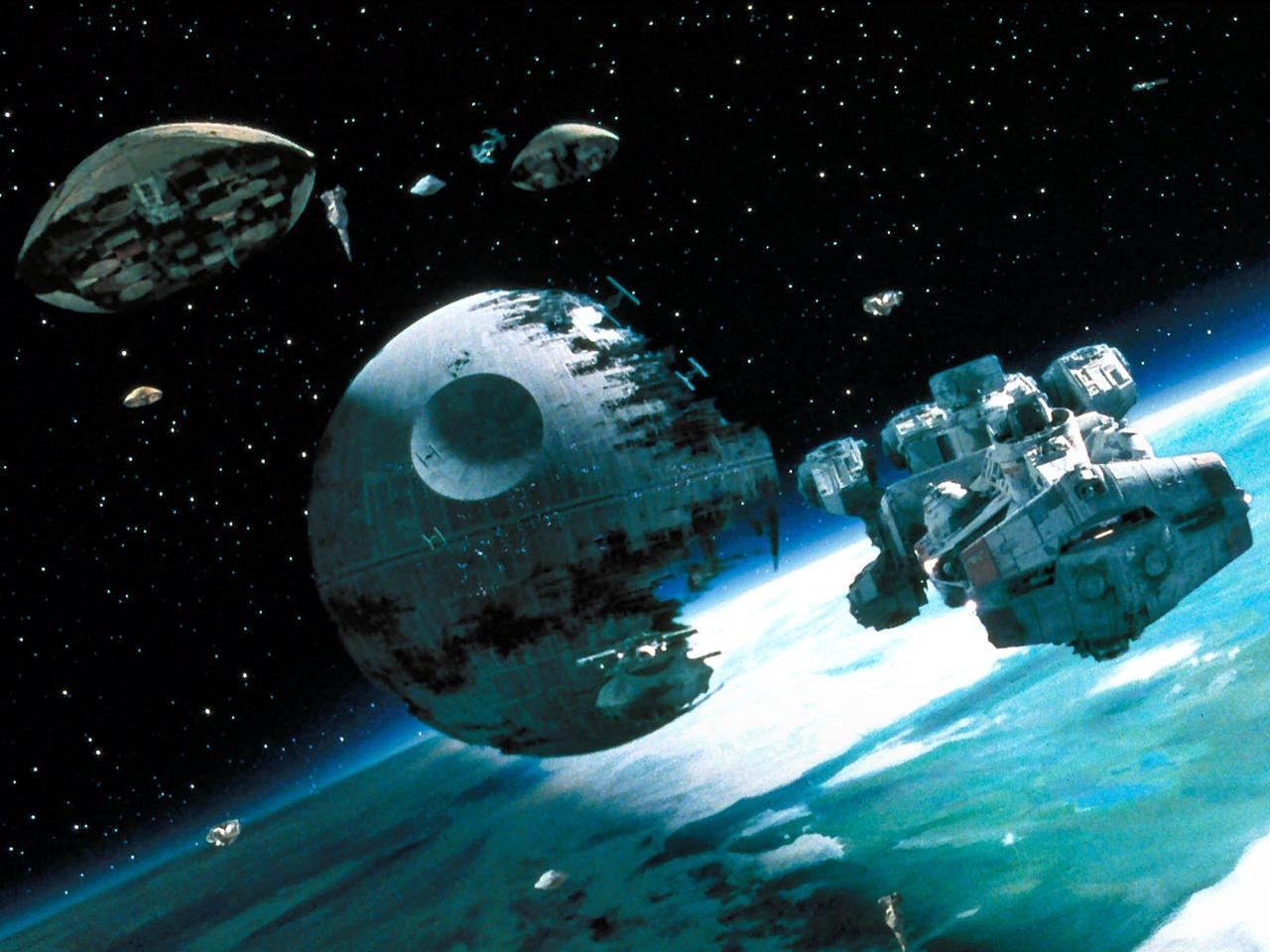 star wars battle of endor wallpaper by squallline77 ddzz8iq