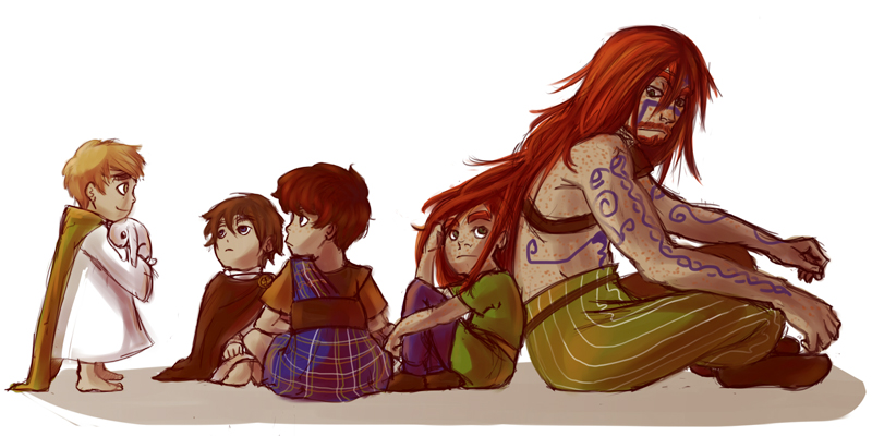APH - We could have been a family by Le-Black-Sheep