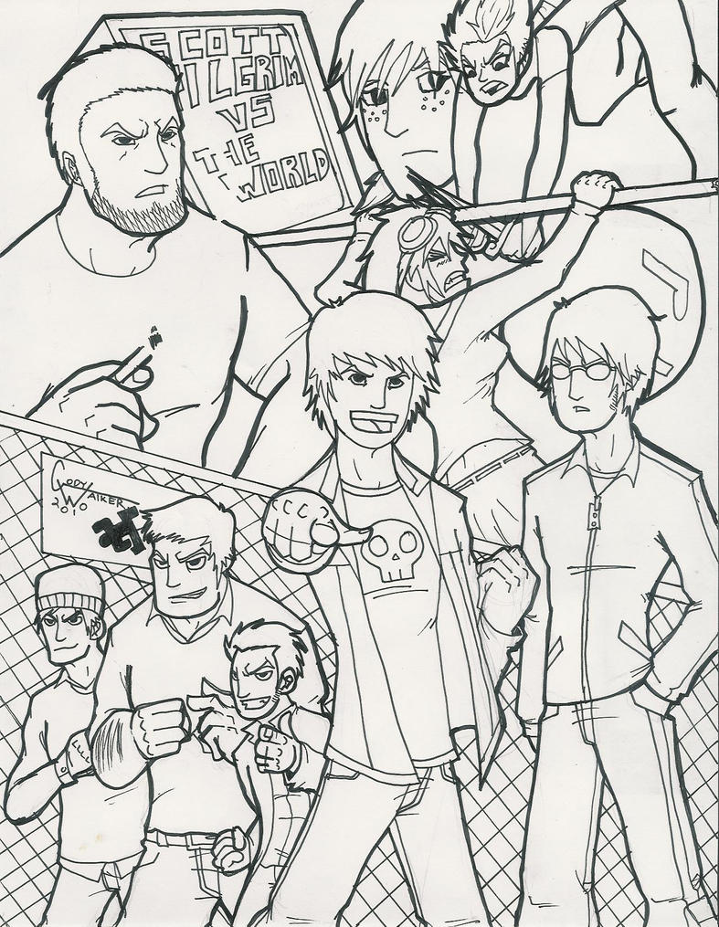 Pretty Scott Pilgrim Coloring Pages lilo and stitch image coloring ...