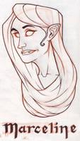 Marceline sketch by M0man