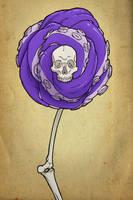 Skull Rose Final by M0man