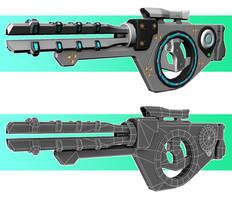 Rail Gun by M0man