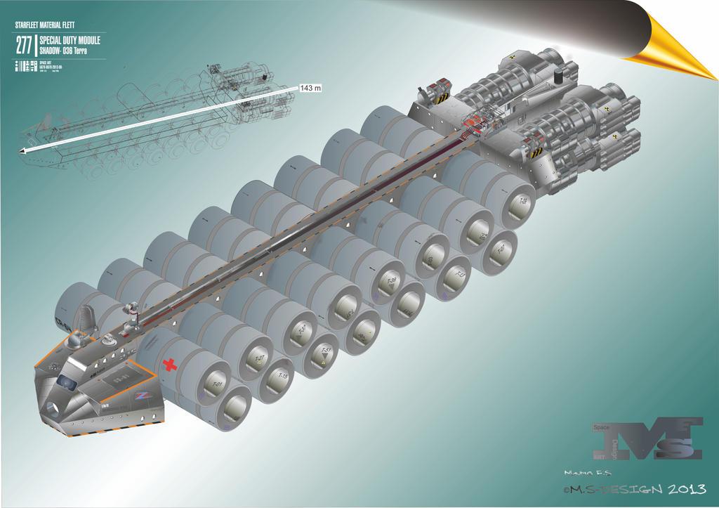 Shadow transporter space art design by masch art on deviantart for Space art design