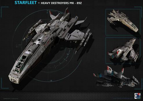 Spaceship - Heavy Destroyer MK89Z