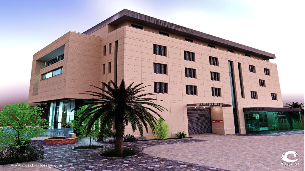 The Hotel - Architektur Design by MASCH-ARTDesign