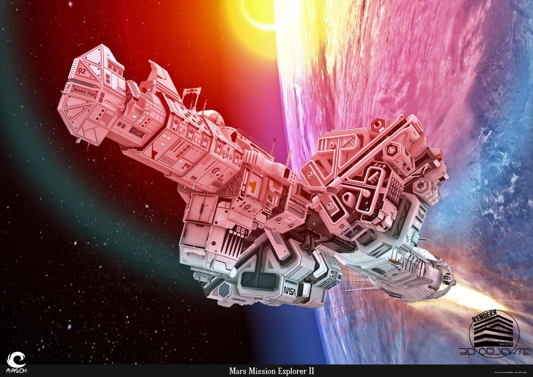 Mars Mission Explorer II by MASCH-ARTDesign