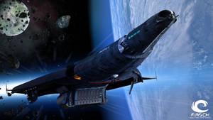 Spaceship Amidala Fly by MASCH-ART