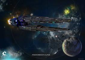 Andomeda Class by MASCH-ART