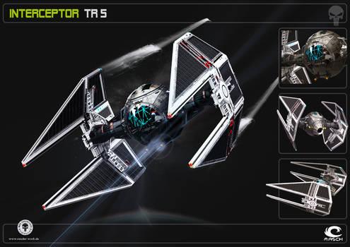 Space Ship Interceptor TR5