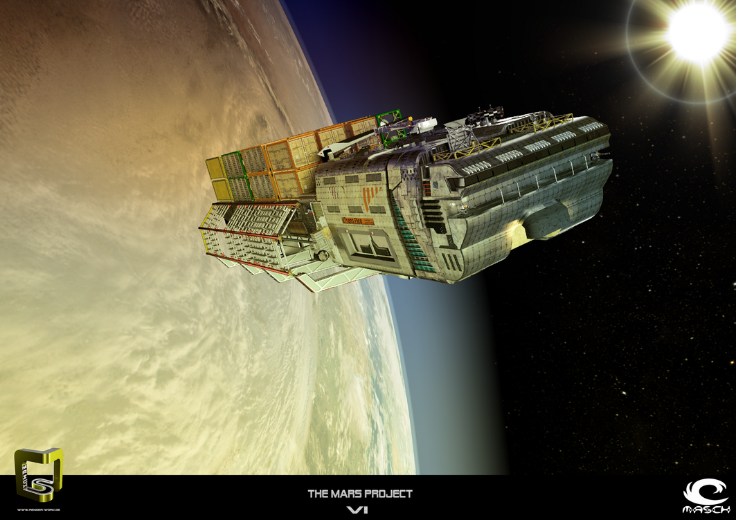 The Mars Project 6 - The Container Ship by MASCH-ART
