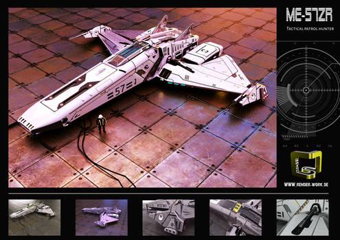 Space Ship ME-56ZR