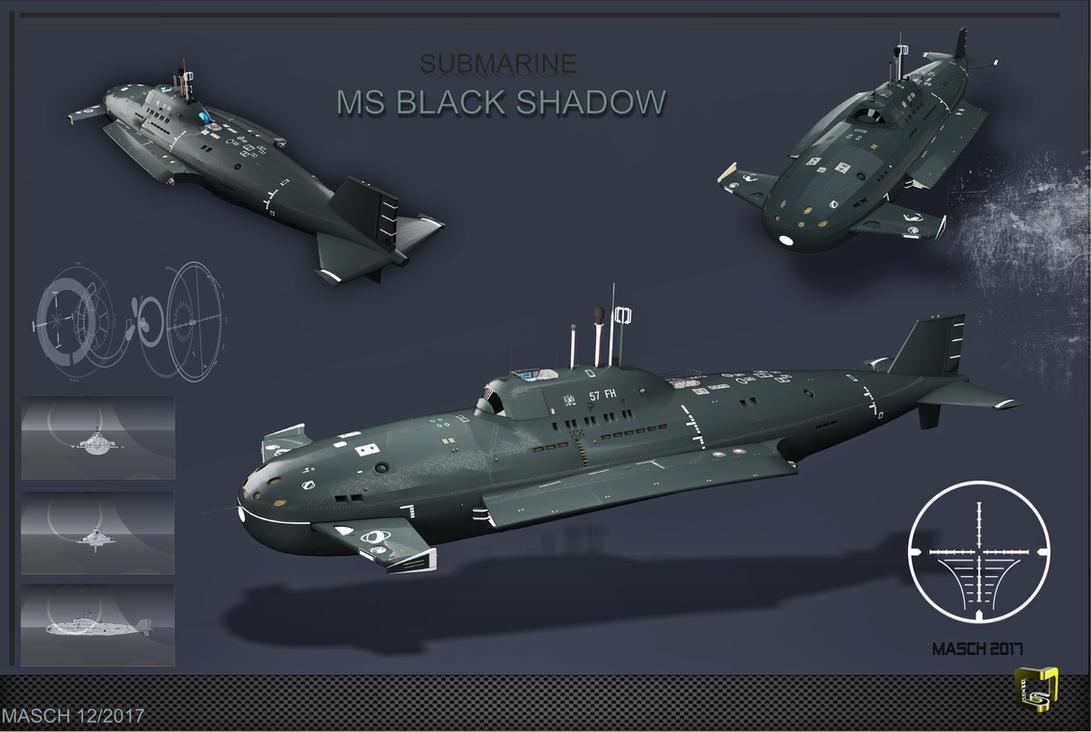 Private Explorer submarine by MASCH-ART