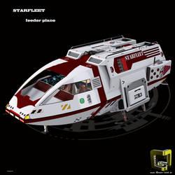 Shuttle , feeder plane Spaceship