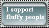 Fluffy People Stamp by BBallGirl2009