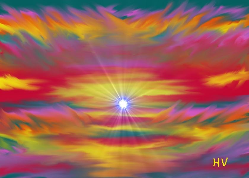 Haight Ashbury Psychedelic Sunset by HenryValdROCKS on ...