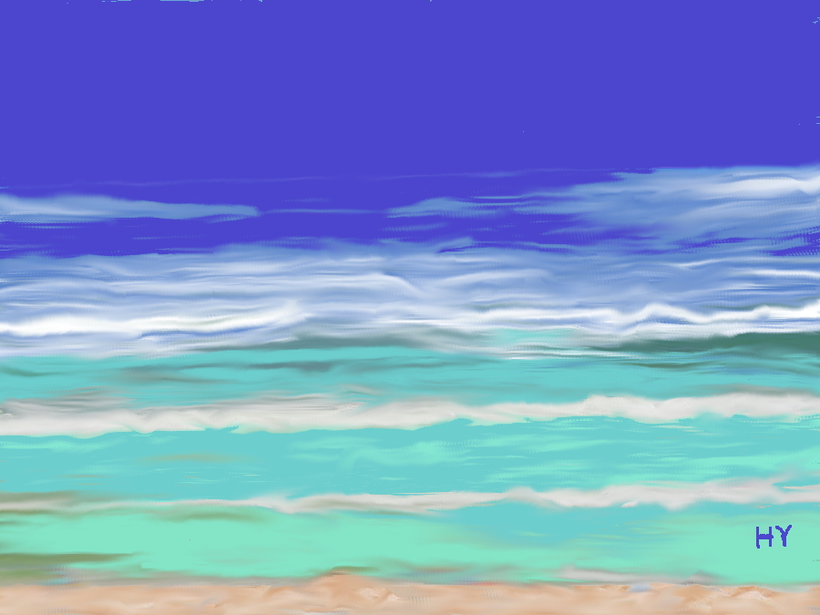 Tropical Surf. by Henry V. 2012. by HenryValdROCKS