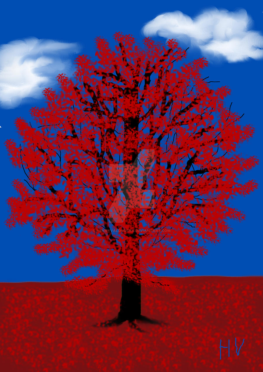 RED TREE 2012. by HenryValdROCKS