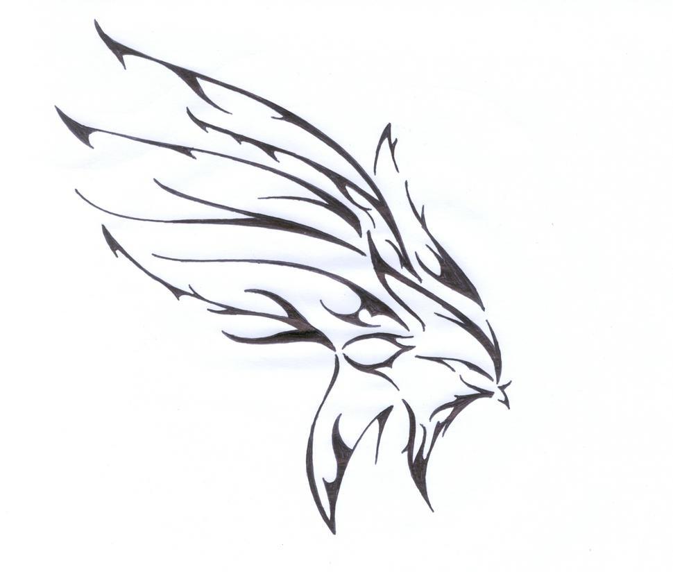 Tribal Wing by flawpunk on DeviantArt