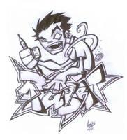 Grafitti by flawpunk