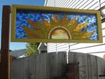 Mosaic Sun Window