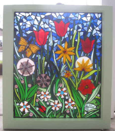 how to make mosaic painting