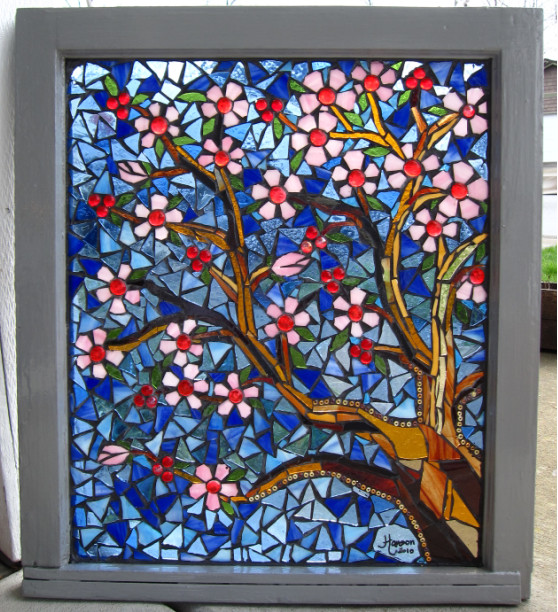 photo store Mosaic Pictures In Stained Glass download