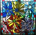 Random Mosaic Dahlias Mosaic