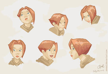 Jael: Expressions by aimee5
