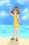 Suggerstion Drawing - Selphie (Kingdom Hearts)
