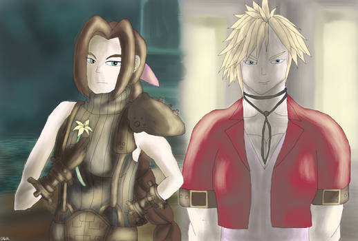 Clothes Swap - Aerith and Cloud