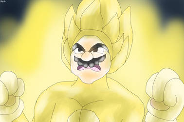 Super Sayian Transformation (Cat Mario)