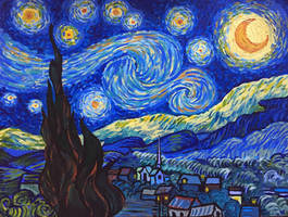 Starry Night by celticsidhe