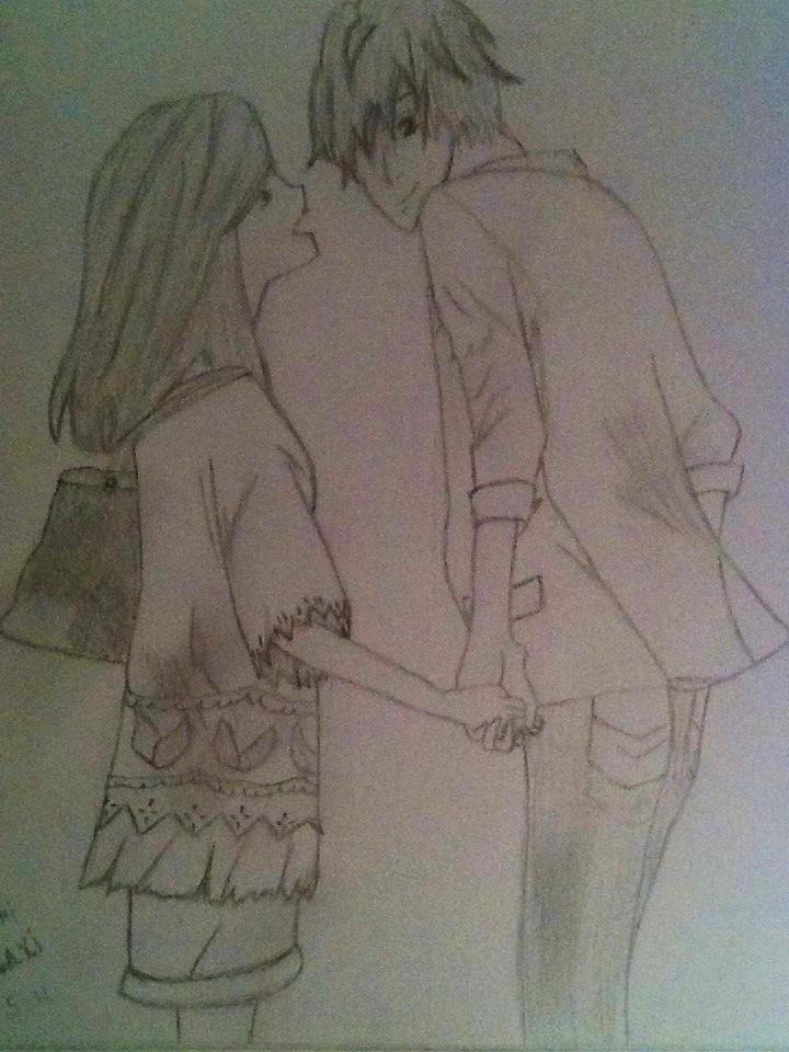 Haruhi and Tamaki~ by LuLuBellaCalista