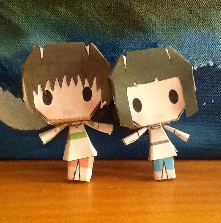 Chihiro and Haku by LuLuBellaCalista