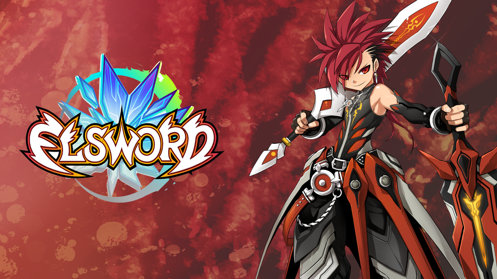 Elsword blazing heart wallpaper by tophatea on deviantart elsword is wallpaper by tophatea voltagebd Choice Image