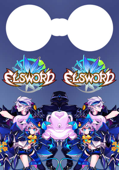 Elsword- Door Knob sign ver. Lu and Ciel REMAKE by TopHatea