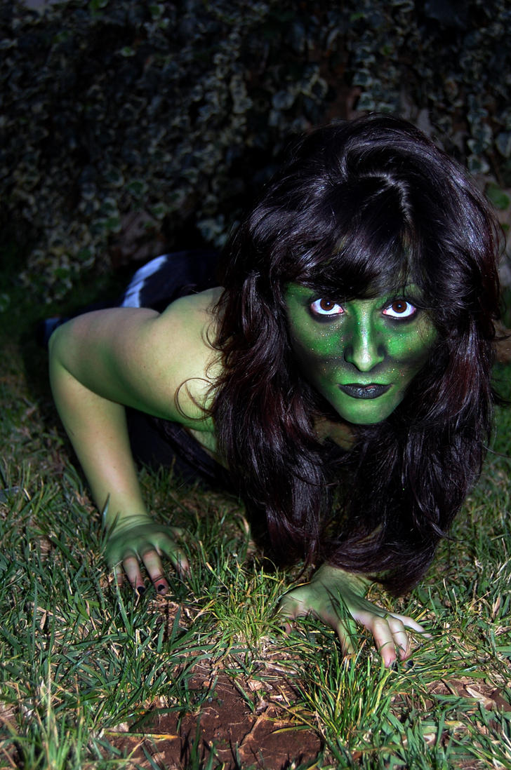 Lizard Woman Body Paint 09 07 by SitaMushroom
