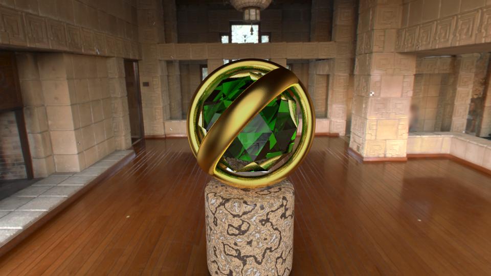 3D Spyro orb composite render - Blender Cycles by PyroDragoness