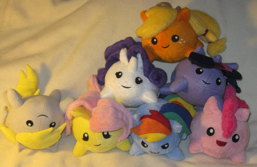 Pony plush group shot by SmellenJR