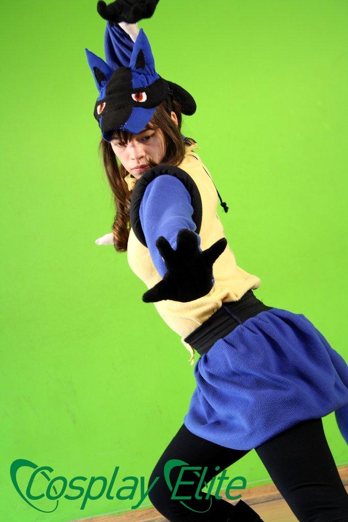 Lucario cosplay