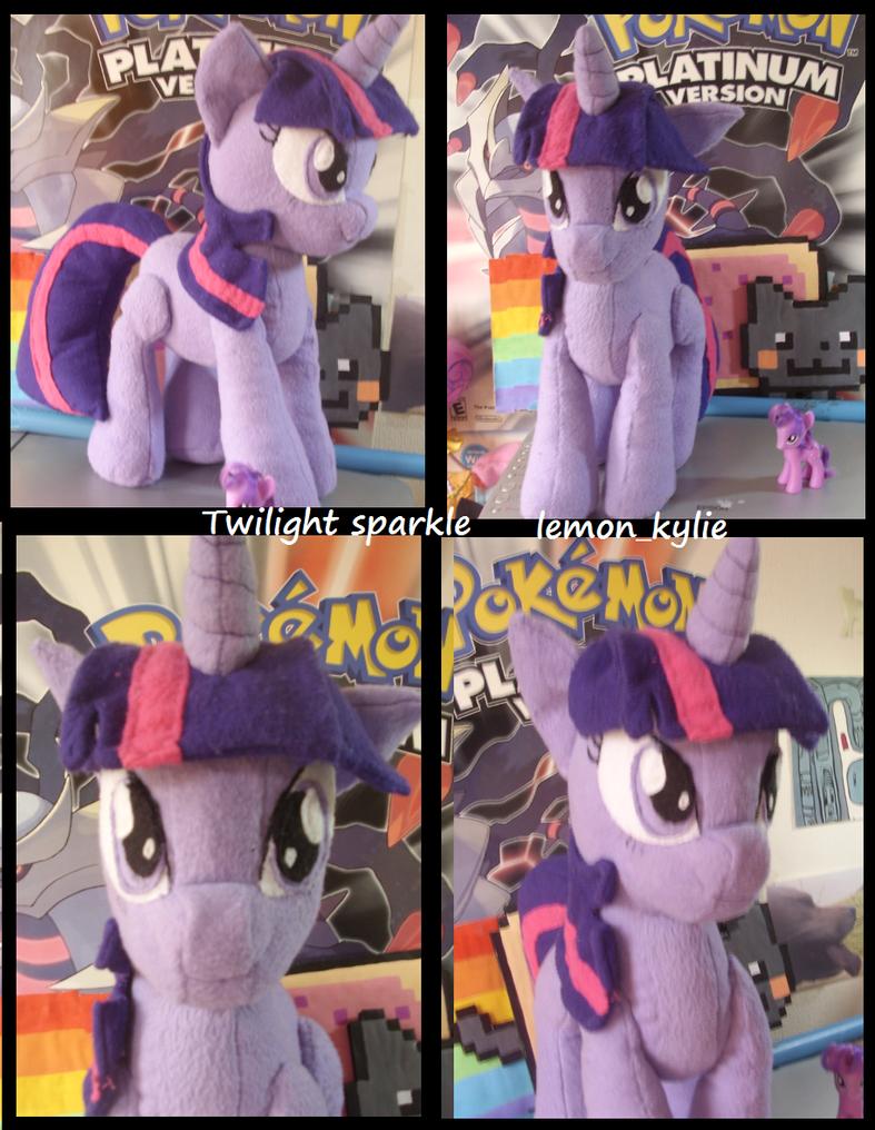 twilight sparkle plush by lemonkylie