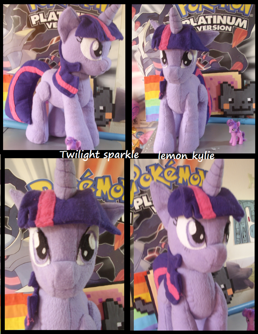 twilight sparkle plush by lemonkylie