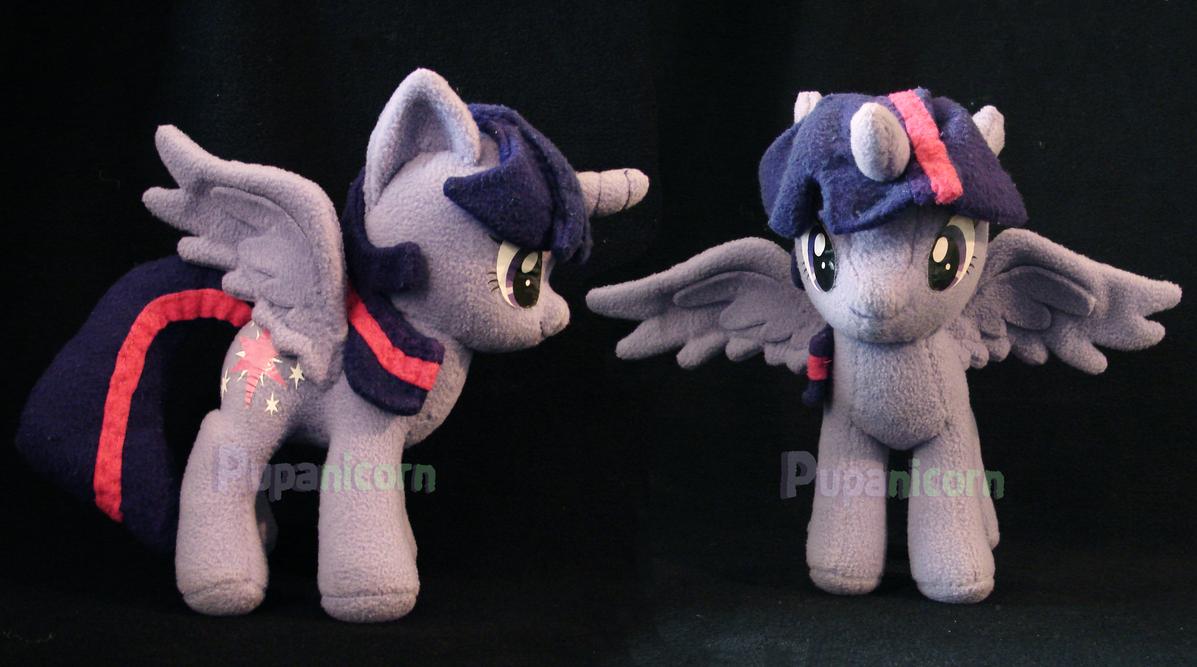 princess twilight sparkle plushie by lemonkylie