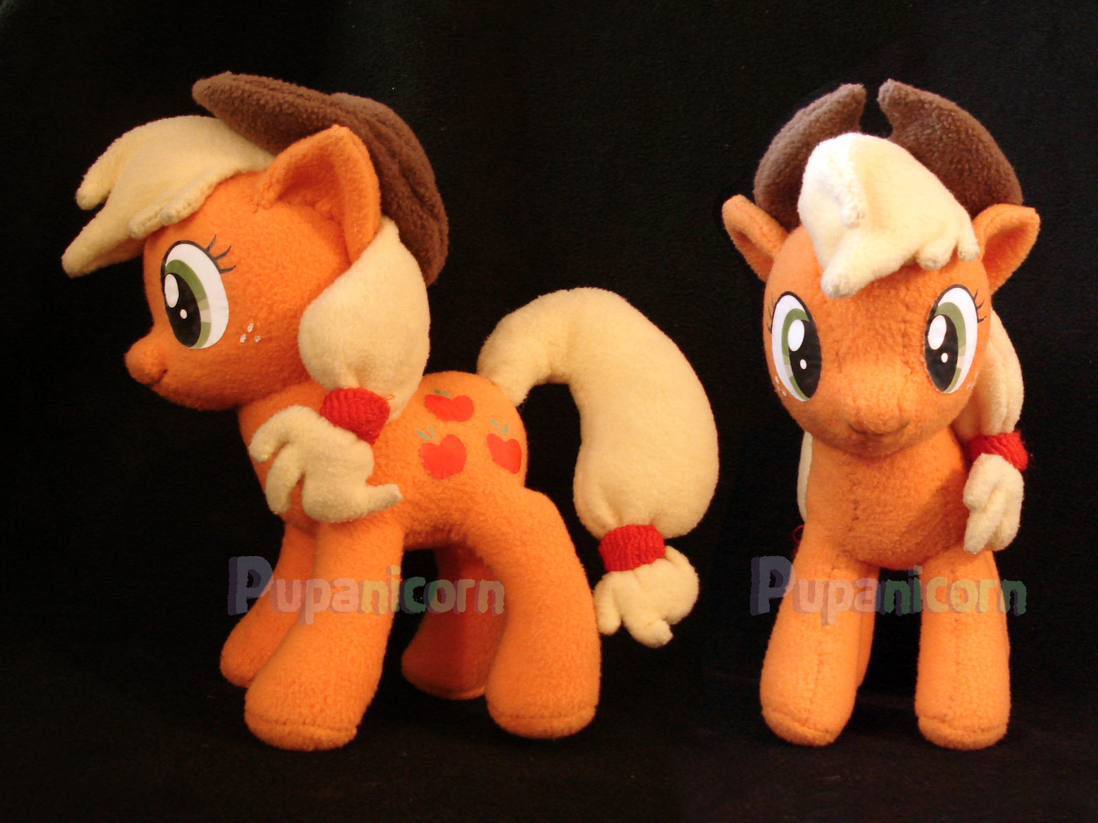 apple jack plushie by lemonkylie