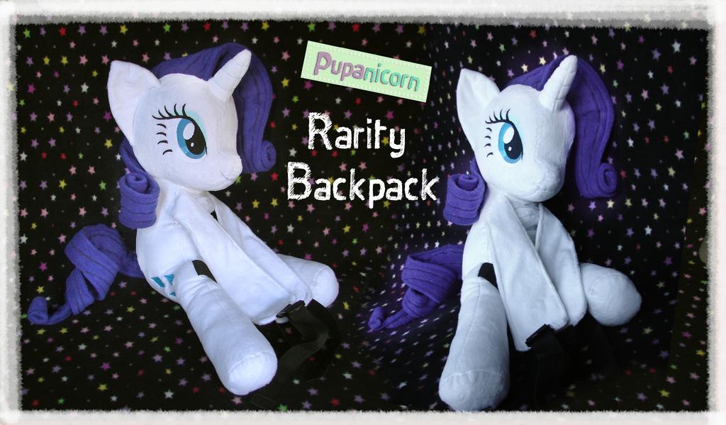 Rarity Backpack by lemonkylie